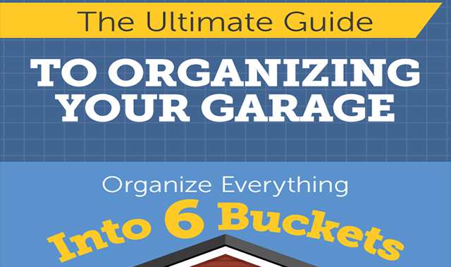 The Ultimate Garage Organization Guide #infograhic