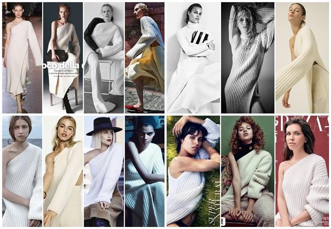 Same or Not 宣娜:好萊塢女星撞衫、開衩毛衣洋裝