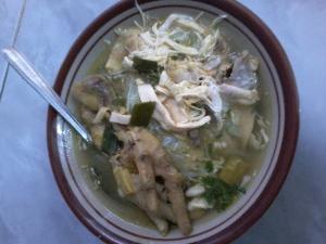 resep cara membuat soto ayam bening