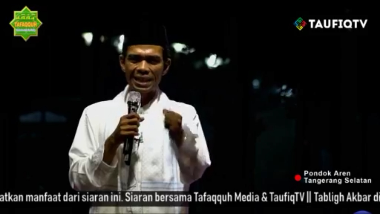Blak-Blakan! Netizen Ungkap Dalang Penolakan Ustadz Abdul Somad