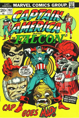 Captain America and the Falcon #162, Cap Goes Mad