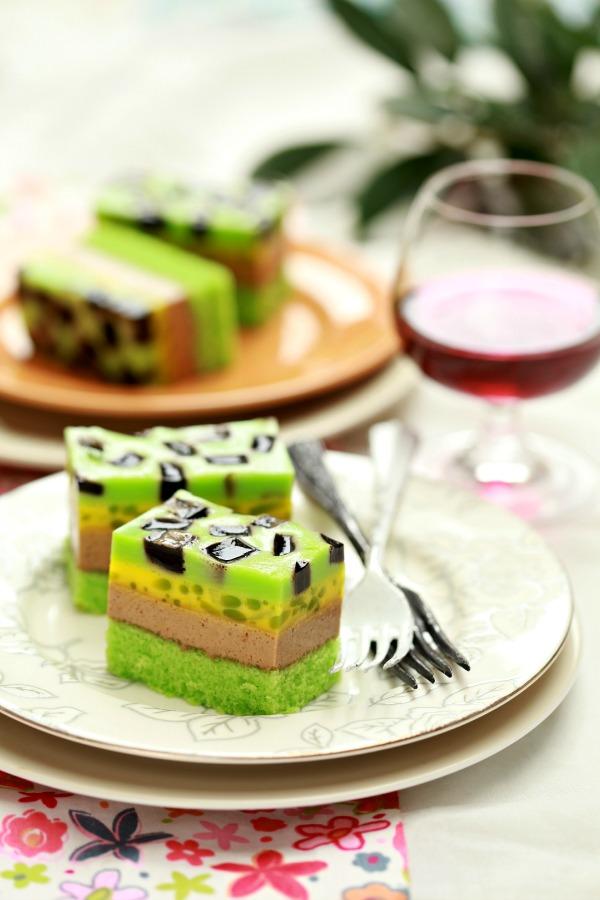 puding kek cendol  cincau masam manis Resepi Kek Susu Azlita Enak dan Mudah