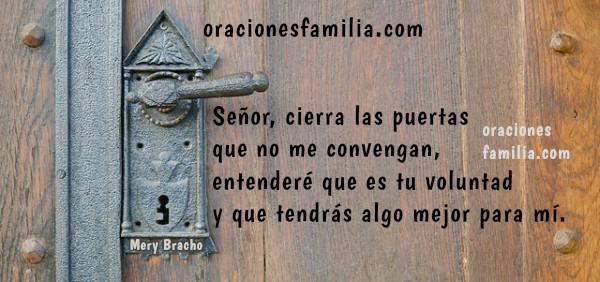 Oración de Buen Día, oración de la mañana, imagen de plegaria para inicio del día por Mery Bracho.