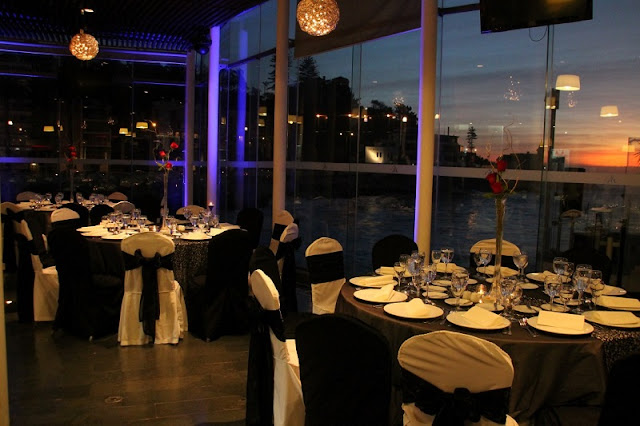 Jantar romântico em Viña del Mar