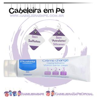 Creme Vitaminado Preventivo de Assaduras 1 - 2 - 3 - Mustela (Sem Sulfatos, Sem Petrolatos e Sem Silicones)