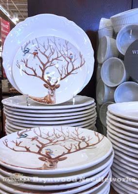 Brynwood Needleworks - Pier 1 Fall Deer Plates & Brynwood Needleworks: Fall At Pier One...