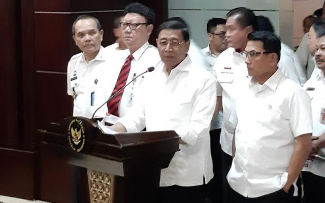 Wiranto: Tim Pencari Fakta Kecurangan Pemilu Tidak Perlu