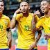 Brasil não encanta, mas continua como um dos favoritos