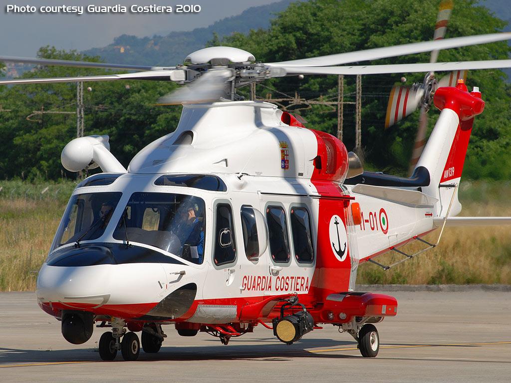 Elicottero 007 : Leonardo: due ulteriori elicotteri per la guardia costiera primo