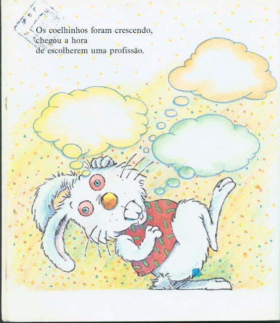 Livro O coelhinho que não era de Páscoa