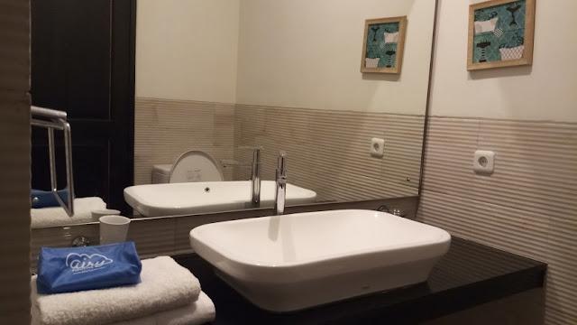 booking hotel murah, kamar mandi bangka suite
