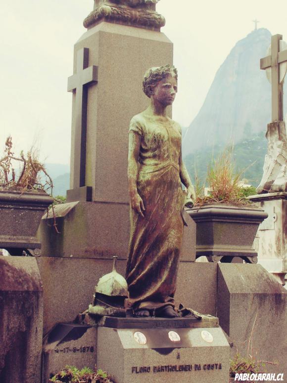 Young girl Dead Statue,Cemitério São João Batista,Saint John the Baptist Cemetery,Rio de Janeiro, Brazil, Pablo Lara H Blog, pablolarah