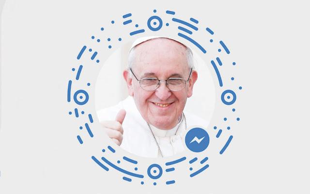 """Trang mạng Facebook này cho phép bạn """"trao đổi với Đức Giáo Hoàng"""""""