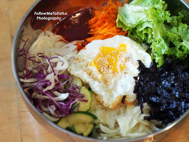 Mixed Vege With Vegetables Bibimbab