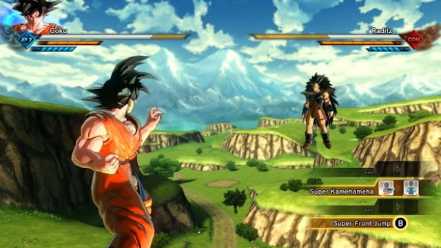 Dragon-Ball-Xenoverse-2-PC-Game-Goku-vs-Raditz