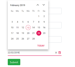 Angular 7 Date Formats using Angular DatePipe | Pre-defined