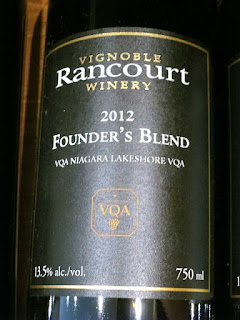 Rancourt Founder's Blend 2012 (89 pts)