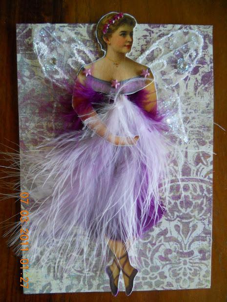 Lorena' Altered Art Sampling Of Summer Fairies