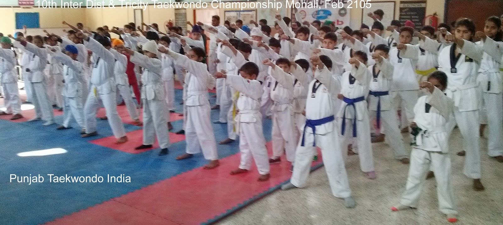 10th Inter District & Tricity Taekwondo Championship at Guru Nanak VBT Polytechnic, Martial Art Taekwondo 'Korean Judo Karate' Self-defence & Fitness Training Academy, Clubs, Classes, Association, Centers in Mohali near Chandigarh, Punjab India, World,  Tkd of Master Er. Satpal Singh Rehal, Garhshankar, Kot Maira, Hoshiarpur, Jalandhar, Patiala, Ferozepur, Bathinda, Ludhiana, Sangrur, Kapurthala, Moga, Fazilka, Ropar, Fatehgarh Sahib, Gurdaspur, Pathankot, Amritsar, Taran Taran, Patti, Faridkot, Nawanshahar