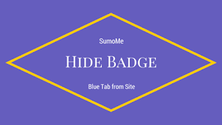 cara sembunyikan badge tab sumome