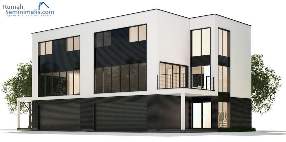 Denah Model Desain Gambar Rumah Minimalis Idaman Modern Tipe 60