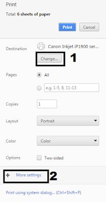 Cara mencetak Info GTK