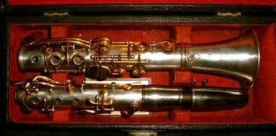 Comumccb Clarinete De Metal