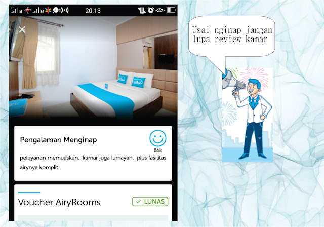 review airy room