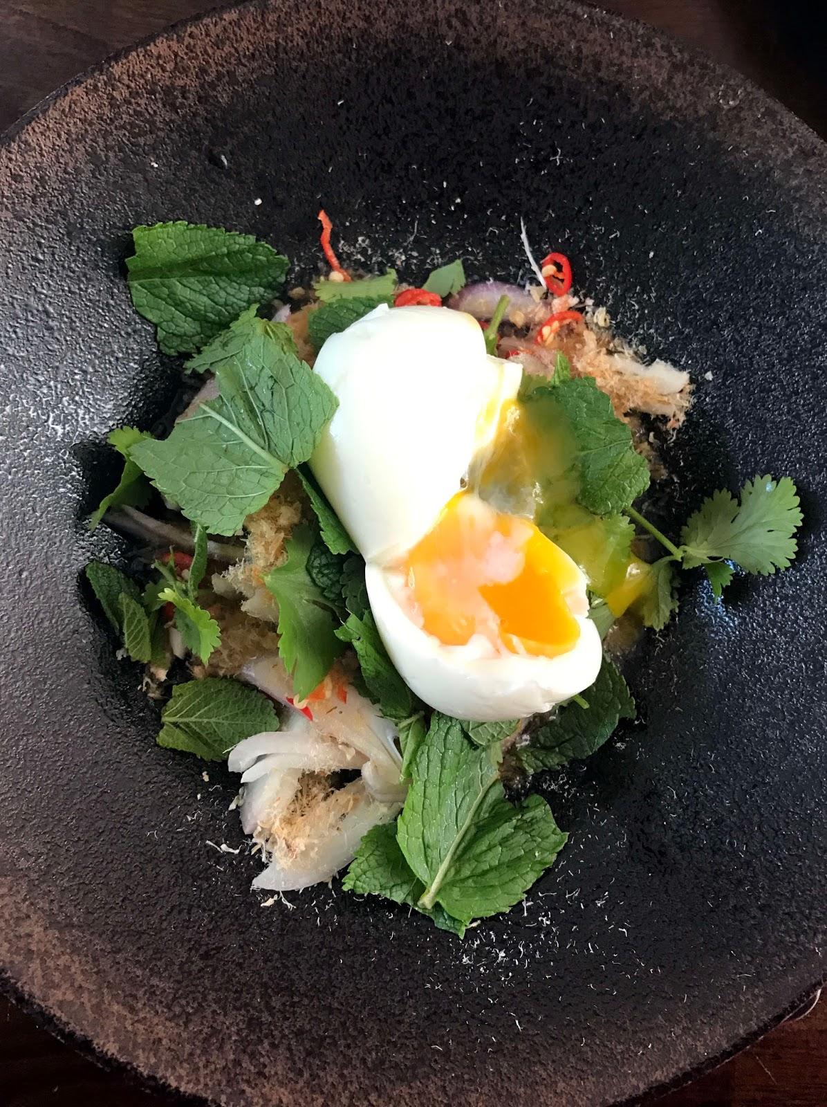 Stitch & Bear - Yum Makeua Yao salad at Nightmarket