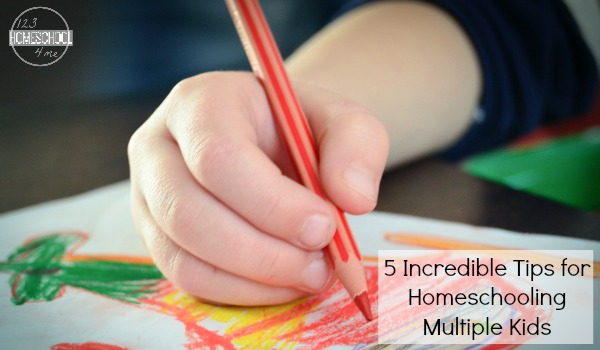 homeschooling multiple kids tips