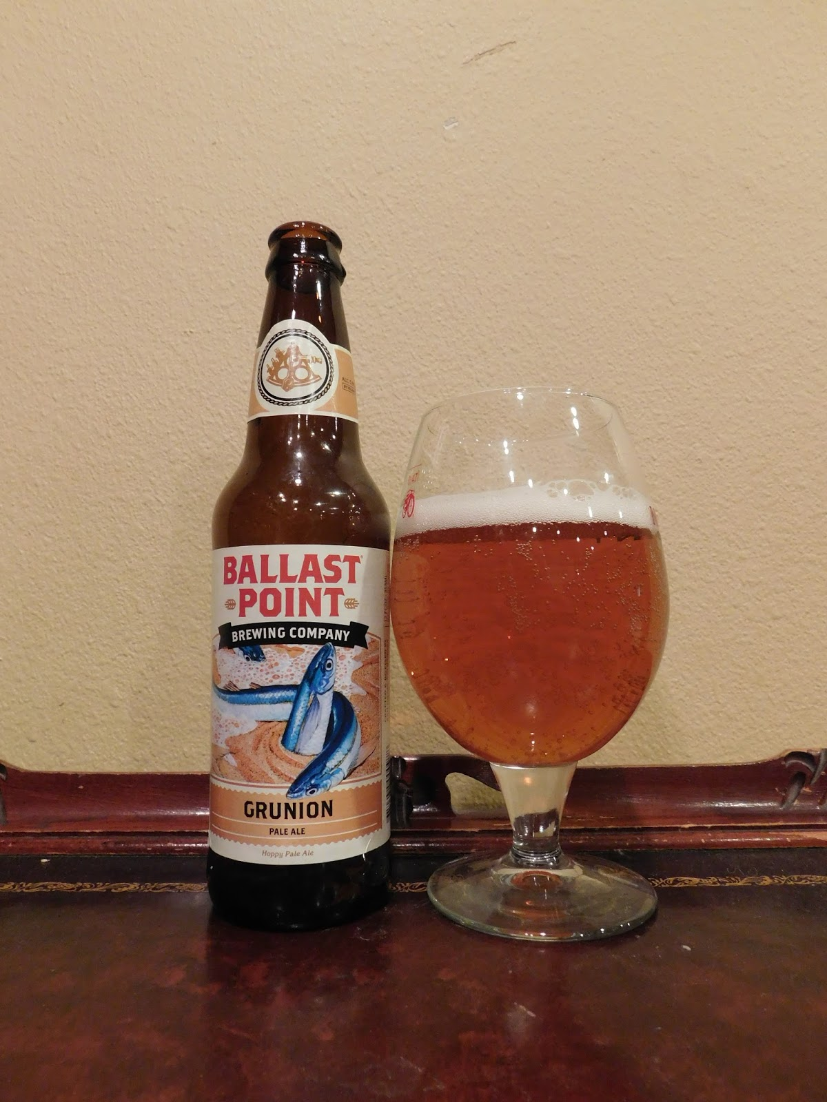 91f5ac19f Doing Beer Justice  Ballast Point Grunion Pale Ale