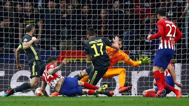 Hasil Liga Champions: Atletico Benamkan Juventus