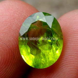 Permata Green Peridot - A459