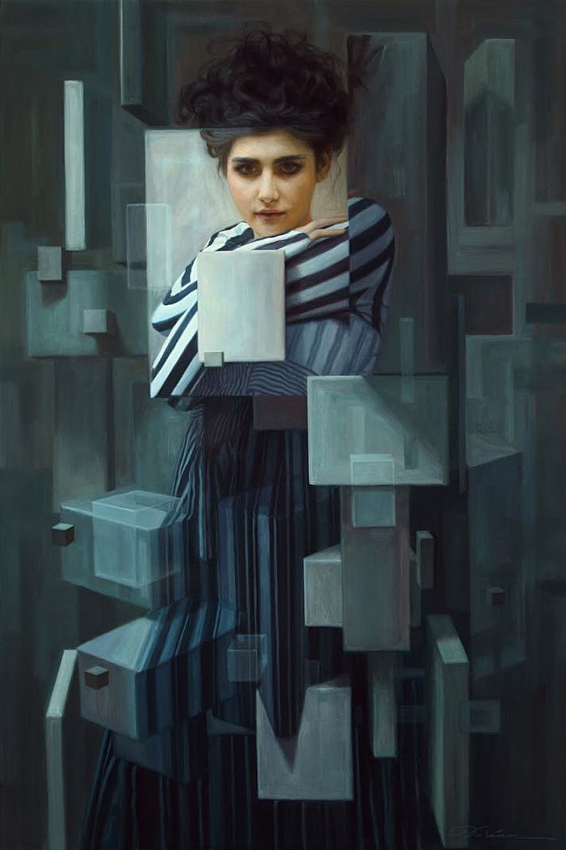 Figurative Paintings by Dorian Vallejo.