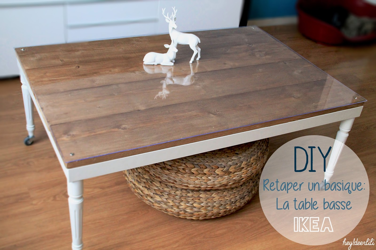 Retaper Une Table Basse Hey Deer Lili Retaper Un Basique La Table Basse Ikea