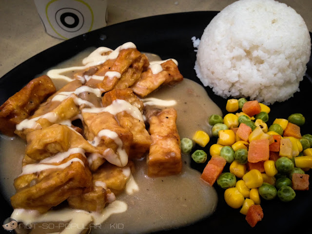 Sizzling Tofu of Caric's Republic in Agno