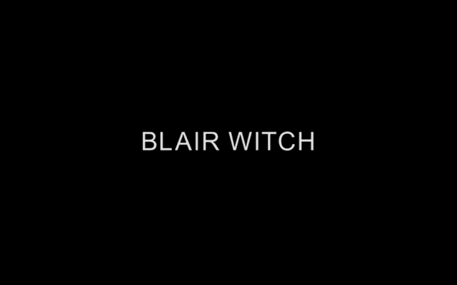Blair Witch title card