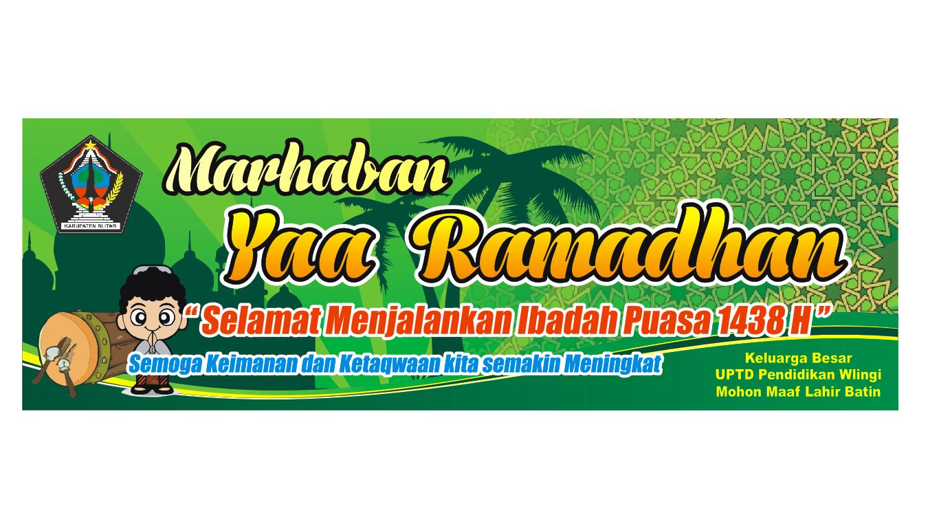 Desain Spanduk Marhaban Ya Ramadhan 1438 H | Share Everything