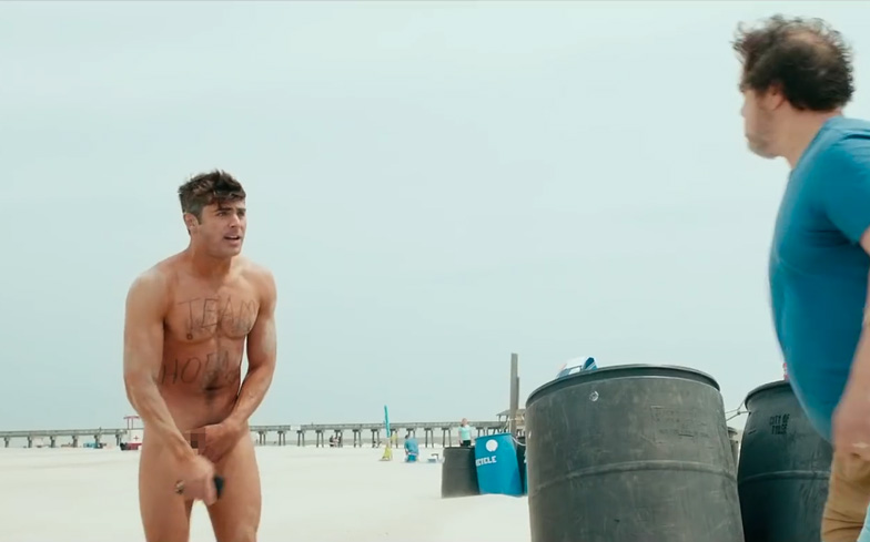 Confirm. Efron naked with boner