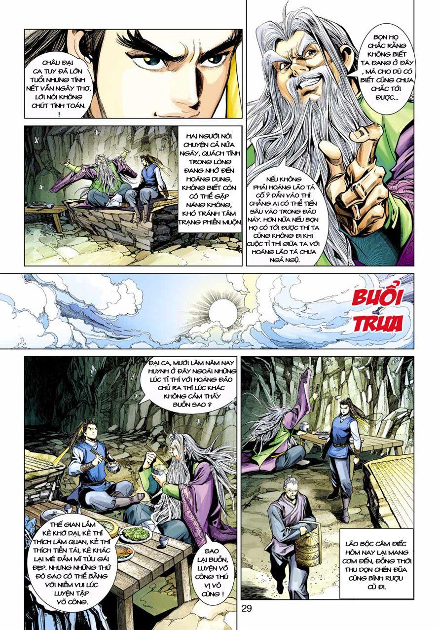 Anh Hùng Xạ Điêu anh hùng xạ đêu chap 41 trang 28