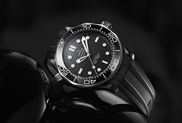 Omega Seamaster Diver 300M Black Ceramic and Titanium 210.92.44.20.01.001