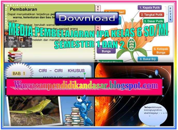Download Media Pembelajaran Ipa Sd Mi Semester 1 Dan 2