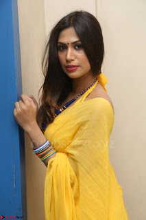 Nishigandha in Yellow backless Strapless Choli and Half Saree Spicy Pics 142.JPG