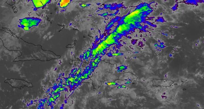 Ocho provincias y el Gran Santo Domingo en alerta por lluvias