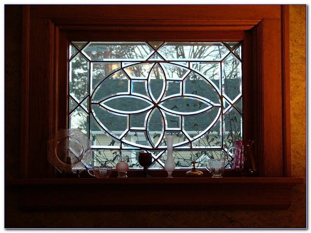 Vintage Leaded GLASS WINDOWS for sale