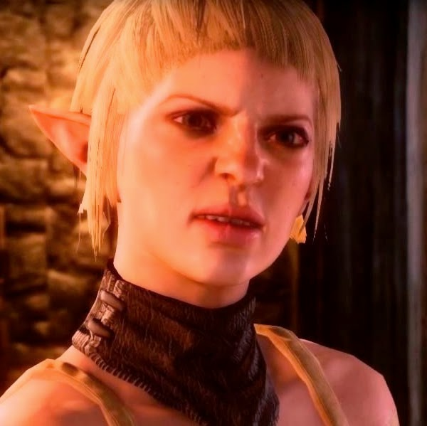 Sera Dragon Age Inquisitio ugly
