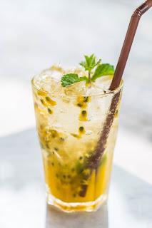 Drink de Maracujá e Gin