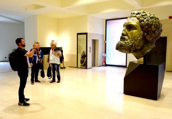 Passeio pelo Museo Nazionale Archeologico em Taranto
