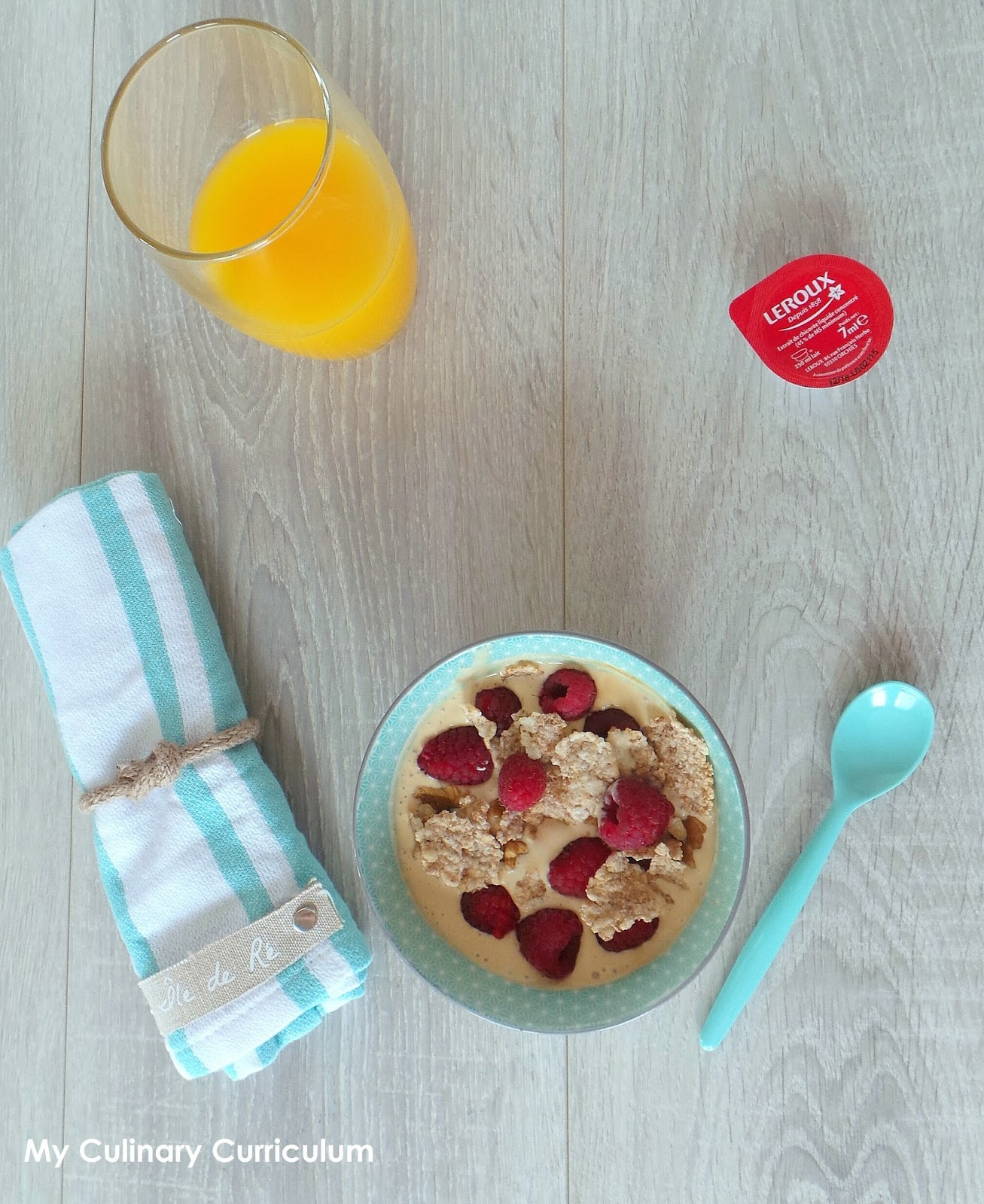 my culinary curriculum  yaourt glac u00e9  u00e0 la chicor u00e9e et