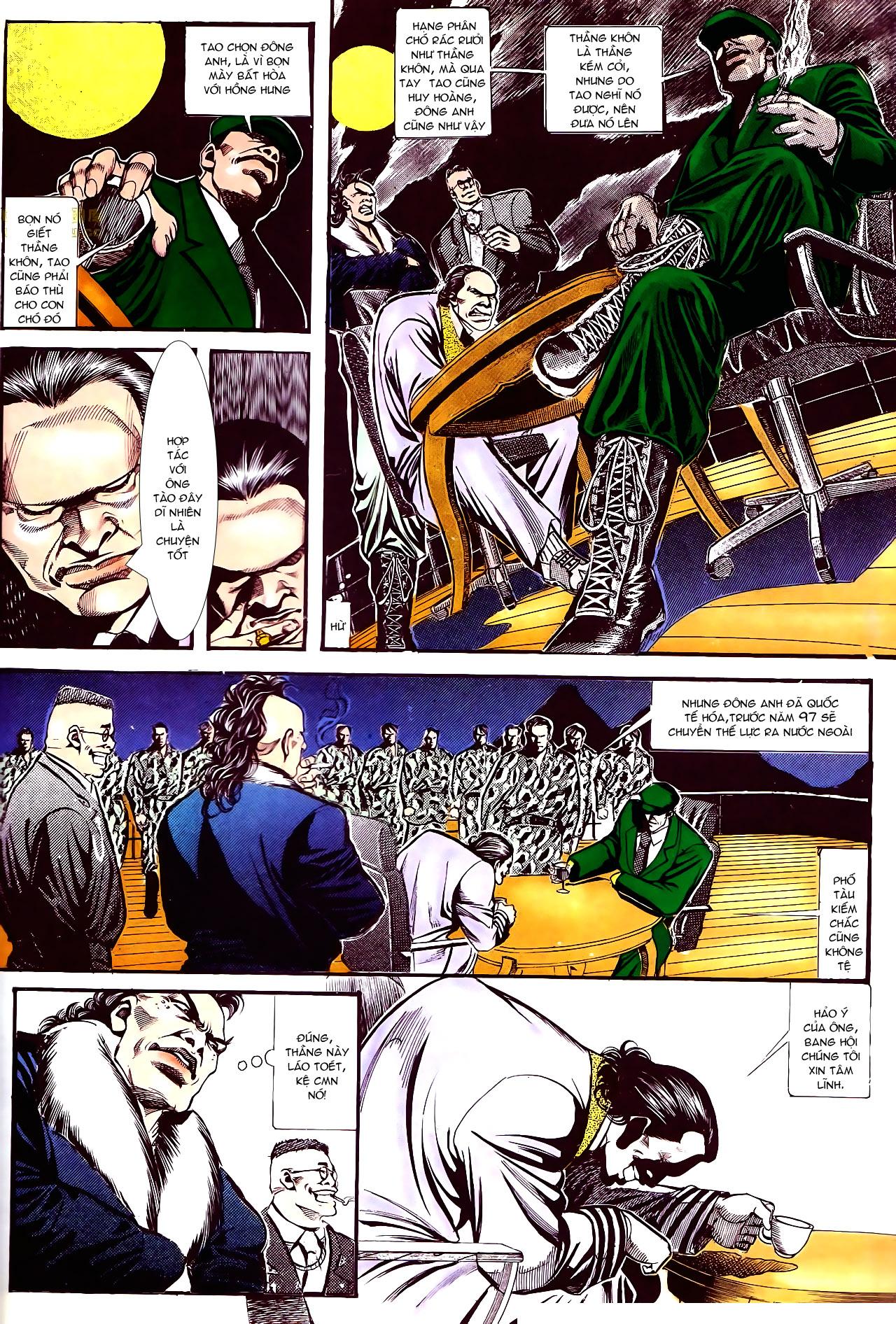Người Trong Giang Hồ chapter 157: thiên đường địa ngục trang 16